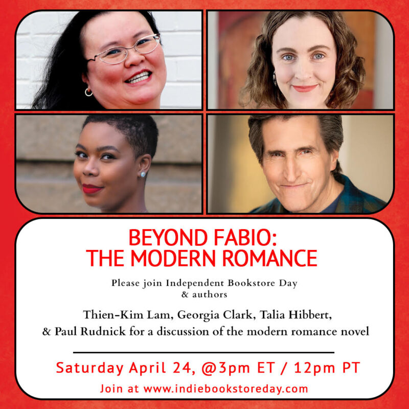 Modern Romance Panel at Indie Bookstore Day