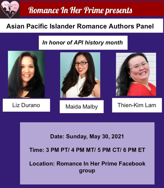 Romance In Her Prime AAPI Panel