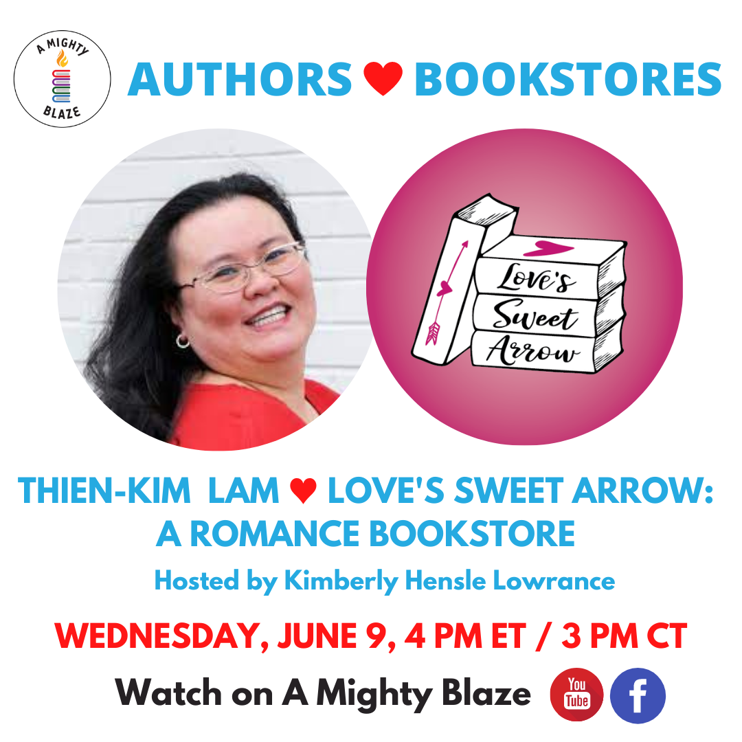 Authors Love Bookstores Lam Loves Sweet Arrow